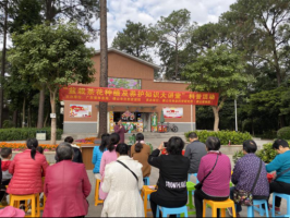 户外盆栽茶花种植及养护科普活动开展受到市民的称赞