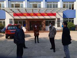 市自然资源局副局长黄健明一行到市林科所检查疫情...